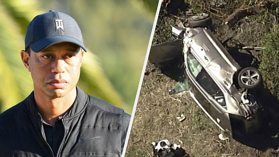 Tiger Woods hồi phục sau tai nạn giao thông nghiêm trọng