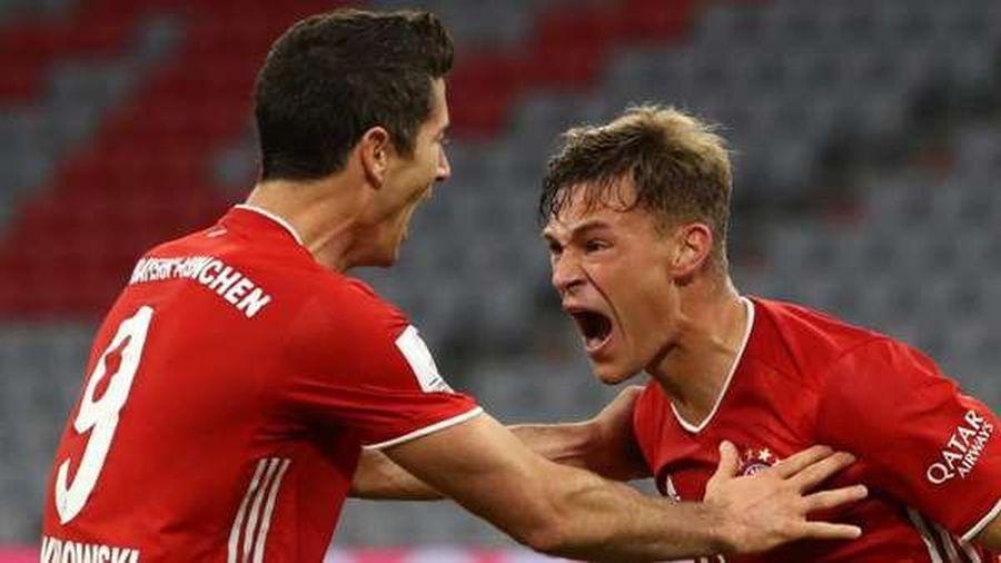Bayern đại thắng, Lewandowski lọt top 3 chân sút vĩ đại nhất Champions League