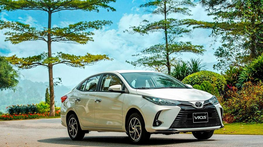 Toyota Vios 2021 ra mắt, giá từ 478 triệu đồng