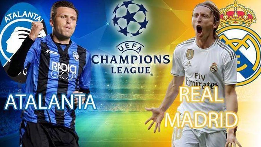 Trực tiếp Atalanta vs Real Madrid: Đôi công rực lửa