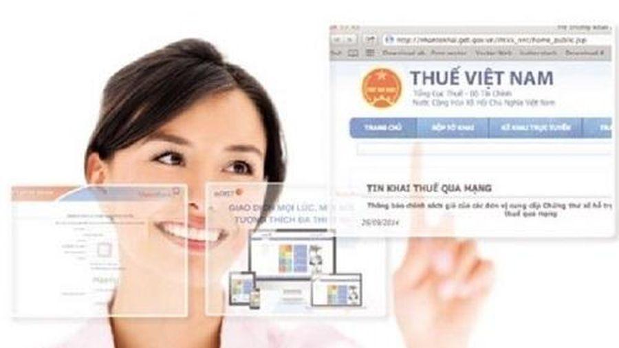 Bình Dương: 100% doanh nghiệp đang hoạt động sử dụng dịch vụ khai thuế qua mạng