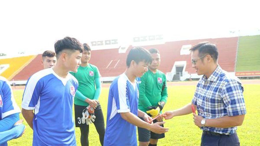 Gặp mặt chúc mừng đầu năm đội bóng đá Đồng Nai