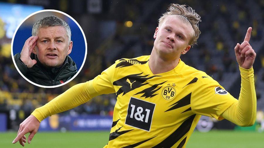 Solskjaer giữ liên lạc với Haaland, fan M.U mừng thầm