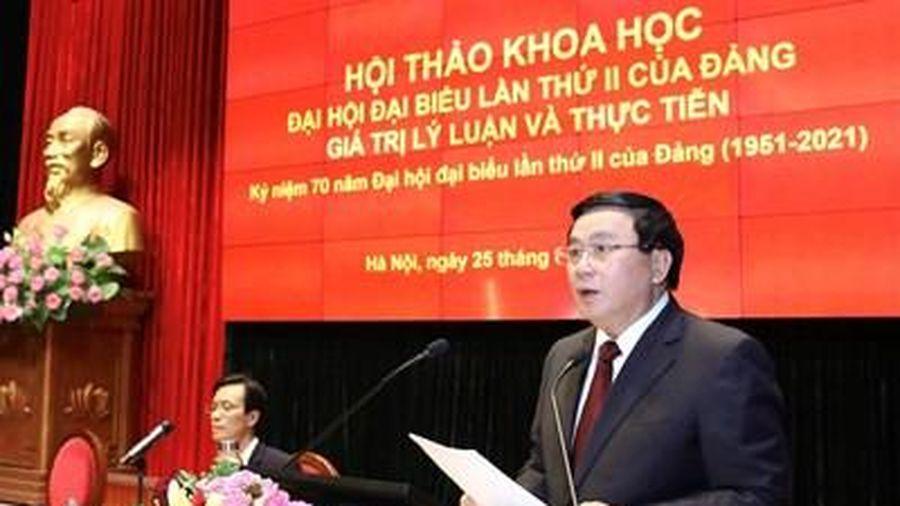 'Đại hội đại biểu lần thứ II của Đảng - Giá trị lý luận và thực tiễn'