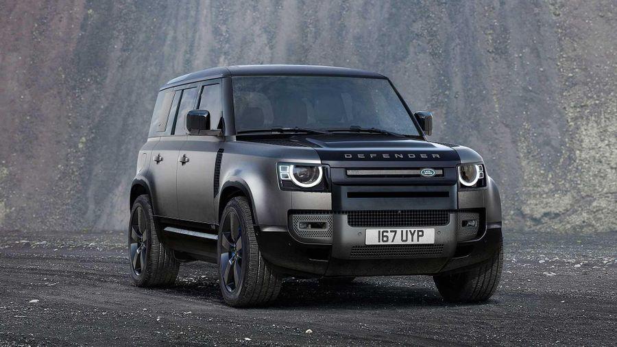 Land Rover Defender V8 được ra mắt với động cơ siêu nạp 5.0L