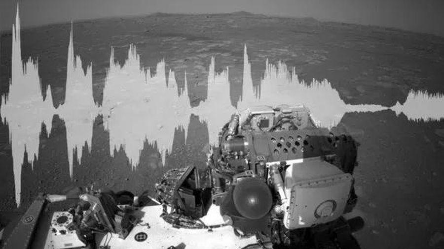 Những âm thanh đầu tiên từ Sao Hỏa được tiết lộ