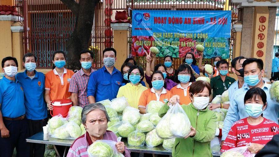 20 tấn nông sản Hải Dương bán ở TP.HCM với giá 0 đồng
