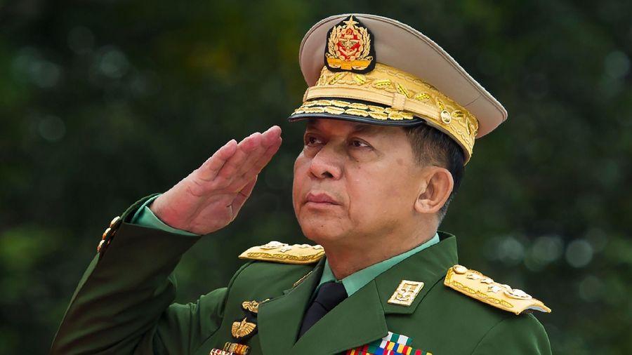 Anh trừng phạt thống tướng Myanmar