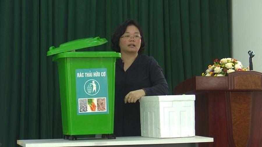 Hà Nội: Đẩy mạnh triển khai phương án phân loại rác tại nguồn cho các hộ dân