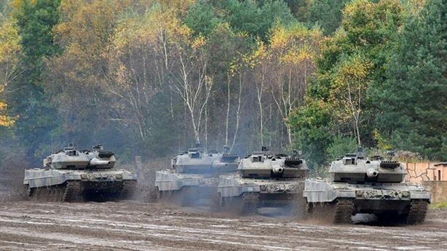 Hết thời tăng Leopard bị phá hủy