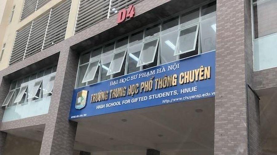 305 chỉ tiêu vào lớp 10 trường chuyên đại học Sư phạm Hà Nội