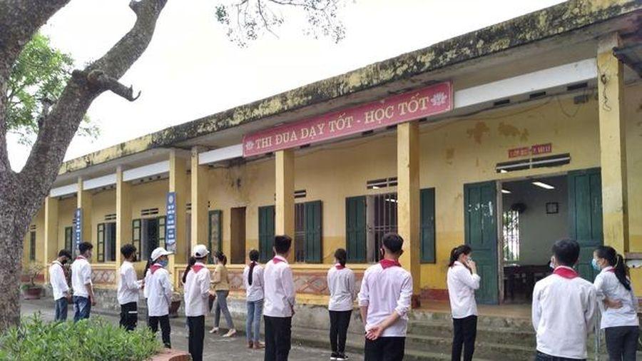 Thái Bình yêu cầu gắt gao phòng dịch khi HS quay trở lại trường
