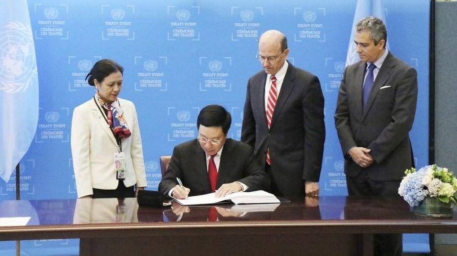 Việt Nam tích cực thực thi nhiệm vụ của Hiệp ước Cấm vũ khí hạt nhân