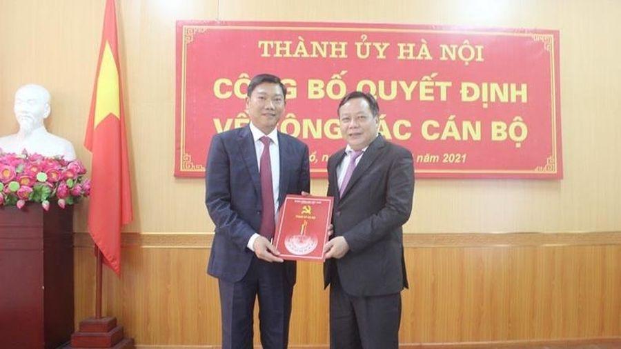 Đồng chí Đỗ Anh Tuấn được bổ nhiệm giữ chức Giám đốc Sở KH&ĐT Hà Nội