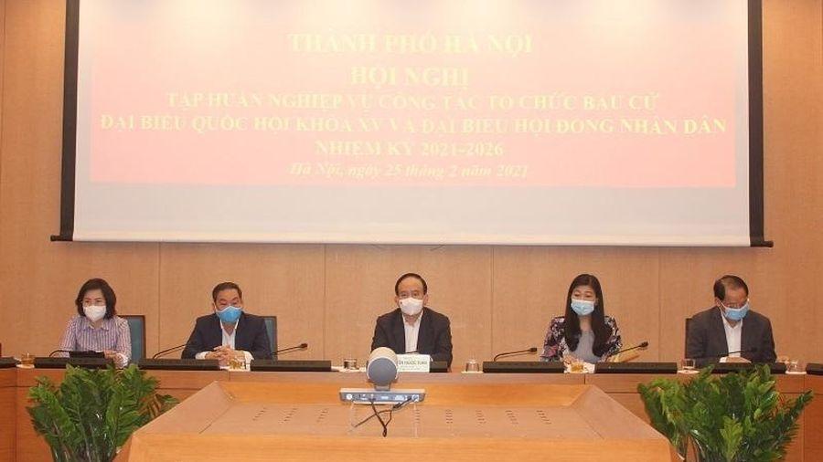 Bộ Nội vụ tổ chức hội nghị trực tuyến toàn quốc tập huấn nghiệp vụ công tác bầu cử
