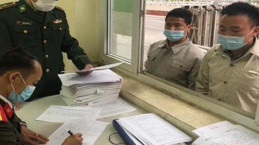 Hà Giang tiếp nhận công dân vượt biên trái phép