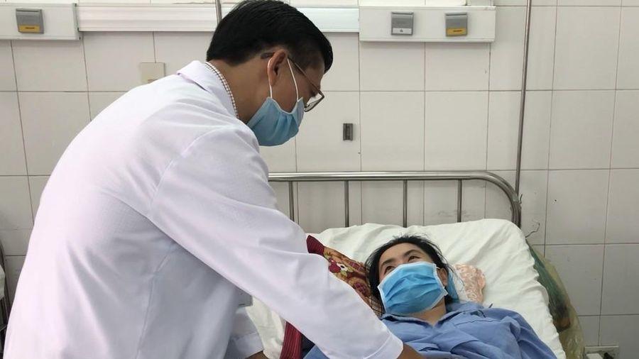 45 phút cứu sống thiếu nữ vỡ gan, đa chấn thương mà không phẫu thuật