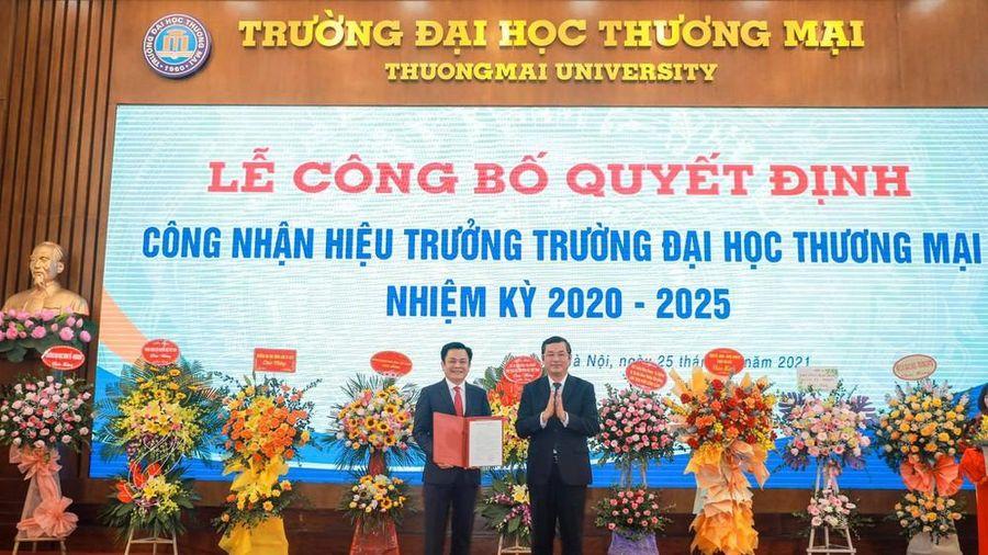 Trường ĐH Thương Mại có hiệu trưởng đầu tiên do hội đồng trường bầu