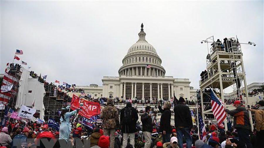 Mỹ: Cảnh sát Đồi Capitol đã dự đoán trước phần tử nổi loạn tấn công