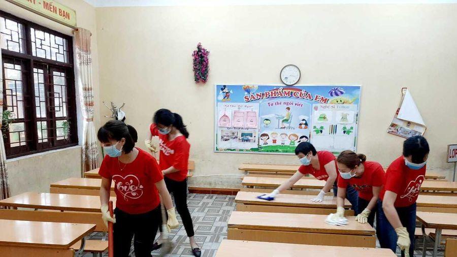 Quảng Ninh đảm bảo các điều kiện an toàn để học sinh trở lại trường