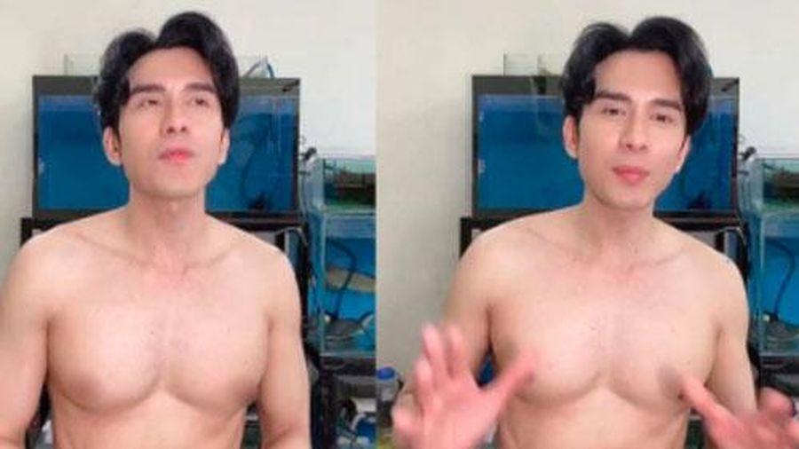 Đan Trường khoe body cực 'hot' ở tuổi 45, nhìn lên gương mặt lại càng ngỡ ngàng hơn về độ 'hack tuổi'