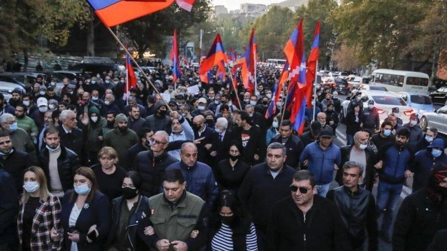 Nga lo ngại xuất hiện đảo chính sau những sự kiện mới nhất ở Armenia