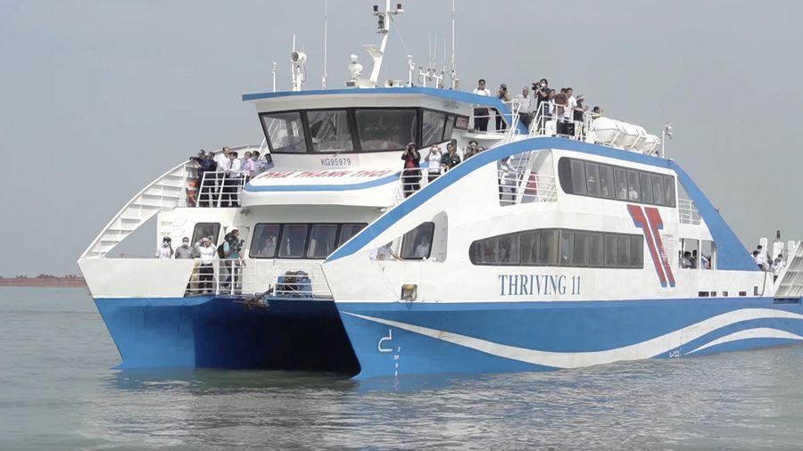 31.000 hành khách đi phà cao tốc Cần Giờ-Vũng Tàu sau gần 2 tháng