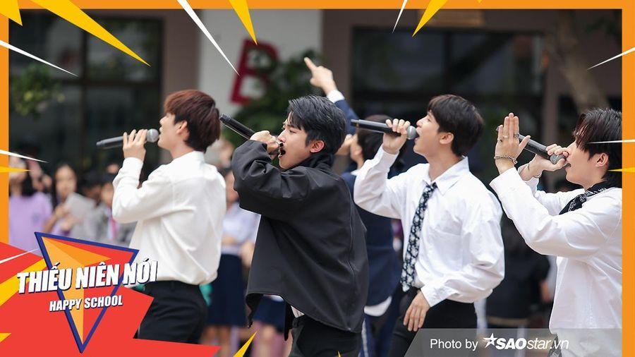Uni5 bất ngờ xuất hiện tại Thiếu Niên Nói 2021 khiến fan đổ 'đứ đừ'