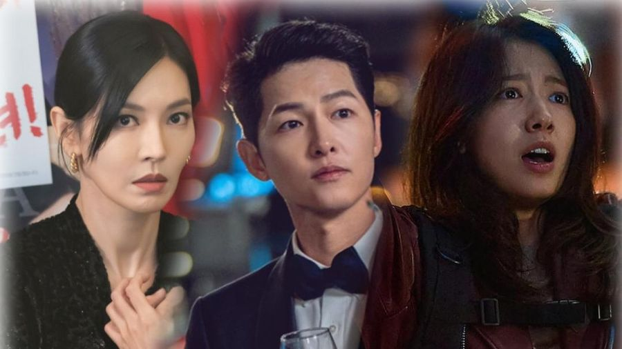BXH diễn viên - phim tháng 2: Song Joong Ki - Park Shin Hye thua thê thảm trước 'Penthouse 2'
