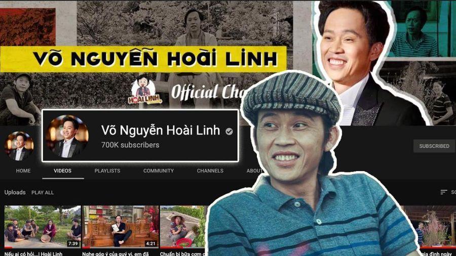 NSƯT Hoài Linh mừng kênh YouTube đạt 700 nghìn lượt đăng ký, xin dân mạng ngừng 'trộm clip'