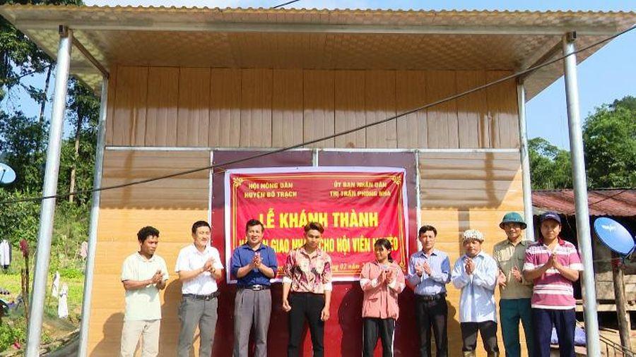 Hỗ trợ nhà ở cho gia đình tân binh có hoàn cảnh khó khăn tại Quảng Bình