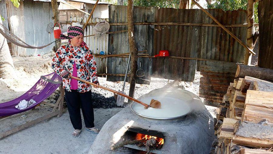 Mùa nấu đường thốt nốt