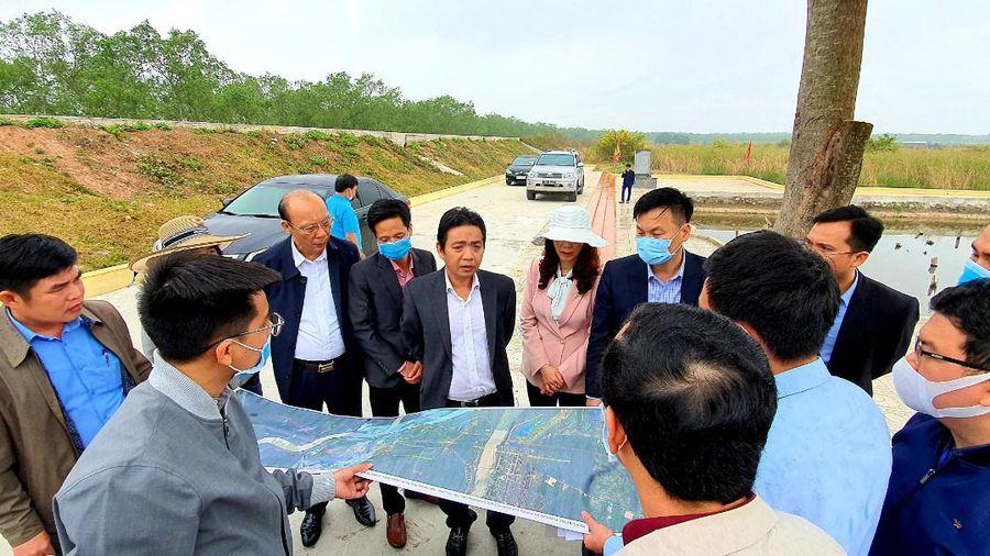 Bộ VH-TT&DL cho ý kiến về phương án triển khai tuyến đường ven sông đi qua Khu di tích Chiến thắng Bạch Đằng
