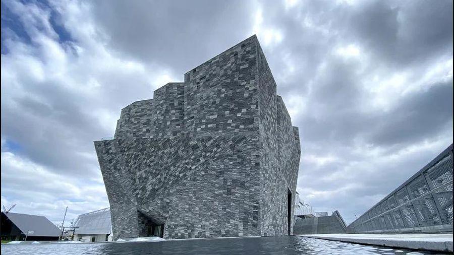 Choáng ngợp với kiến trúc của bảo tàng Văn hóa Kadokawa Nhật Bản