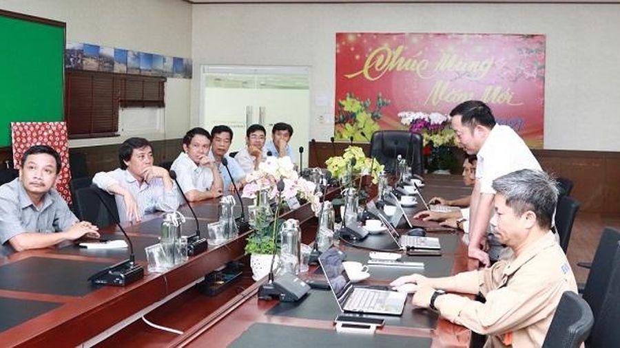Công ty Thủy điện Trị An đến trao đổi kinh nghiệm tại Nhà máy Nhiệt điện Vĩnh Tân 4
