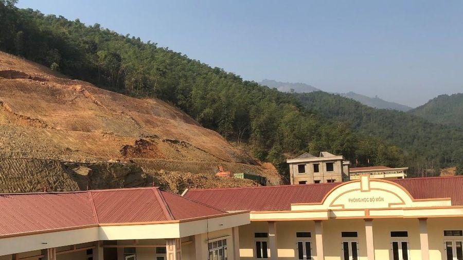 Thanh Hóa: Sạt lở đất nghiêm trọng tại huyện miền núi