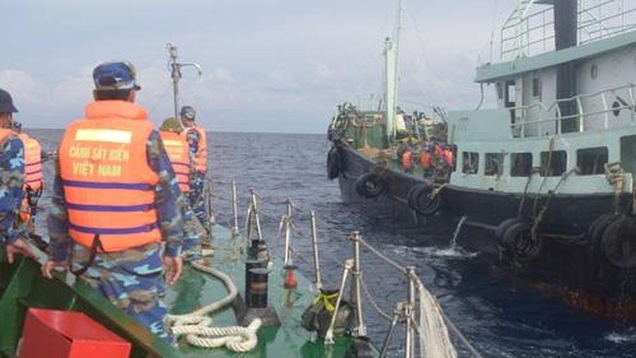 Lực lượng Cảnh sát biển: Xử lý trên 55 vụ buôn lậu, gian lận thương mại và vận chuyển trái phép ma túy