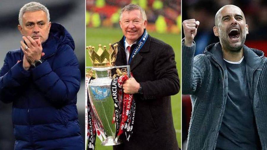 Jose Mourinho đứng đầu top 10 HLV xuất sắc nhất thế kỷ 21