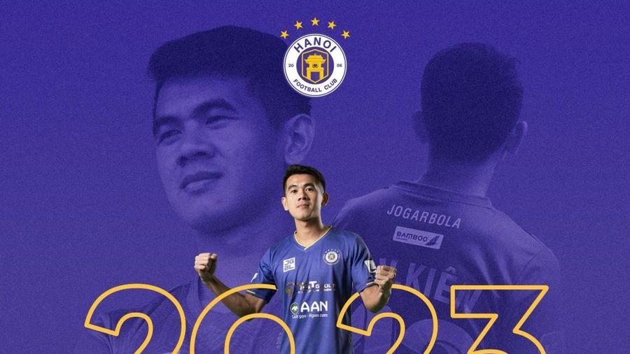 Hà Nội FC 'trói chân' hậu vệ ĐT Việt Nam tới năm 2023