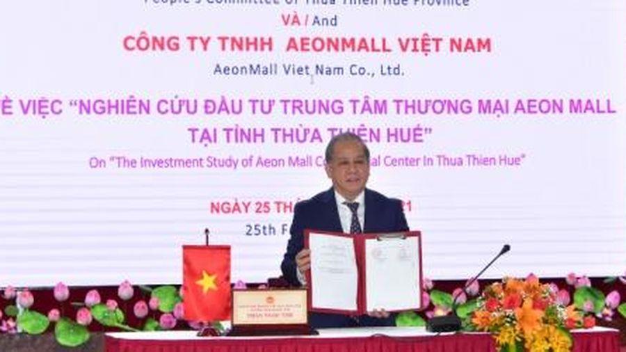 AEONMALL Việt Nam nghiên cứu đầu tư dự án trung tâm thương mại tại Huế
