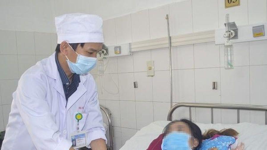 Nữ thanh niên vỡ gan do tai nạn không phải phẫu thuật
