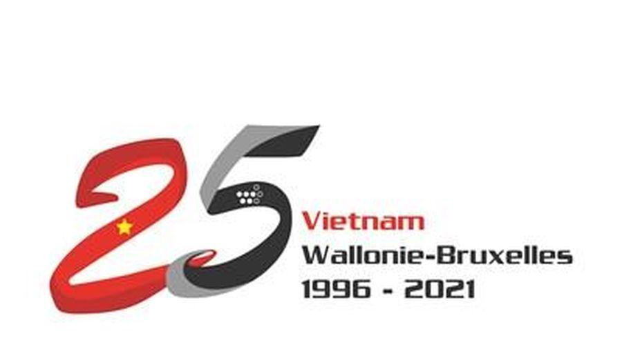 Thiết kế lô gô kỷ niệm 25 năm thành lập Phái đoàn Wallonie-Bruxelles tại Việt Nam