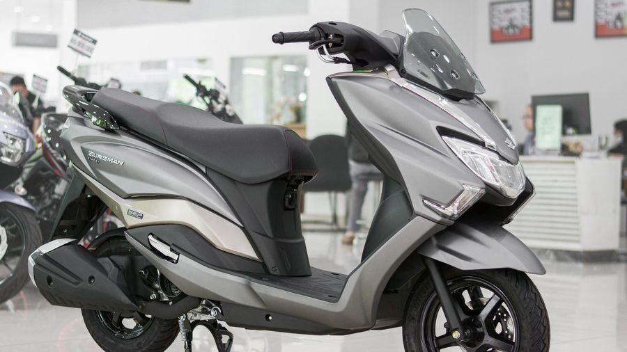 Chi tiết Suzuki Burgman Street tại Việt Nam, giá 49,5 triệu đồng