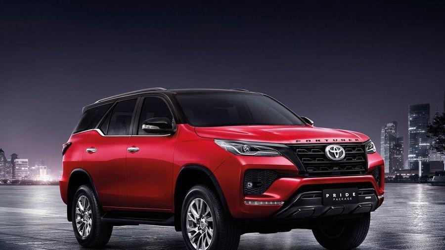 Toyota Fortuner 2021 có gói nâng cấp ngoại thất tại Thái Lan