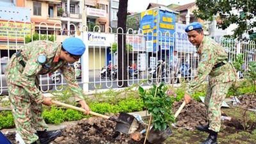 Bệnh viện Quân y 175 tổ chức Lễ phát động 'Tết trồng cây đời đời nhớ ơn Bác Hồ'