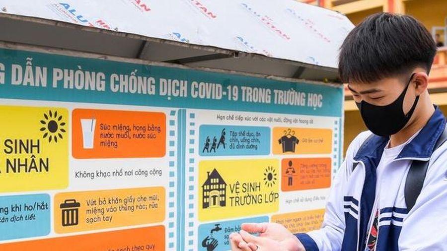 Hưng Yên: Trường học hạn chế hoạt động tập thể tập trung đông người