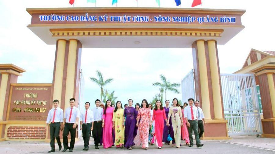 Trường Cao đẳng Kỹ thuật Công - Nông nghiệp Quảng Bình: Địa chỉ tin cậy cho thanh niên học nghề