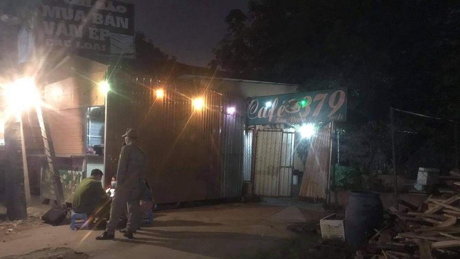 Nam thanh niên bất ngờ tử vong khi vào quán cà phê chòi