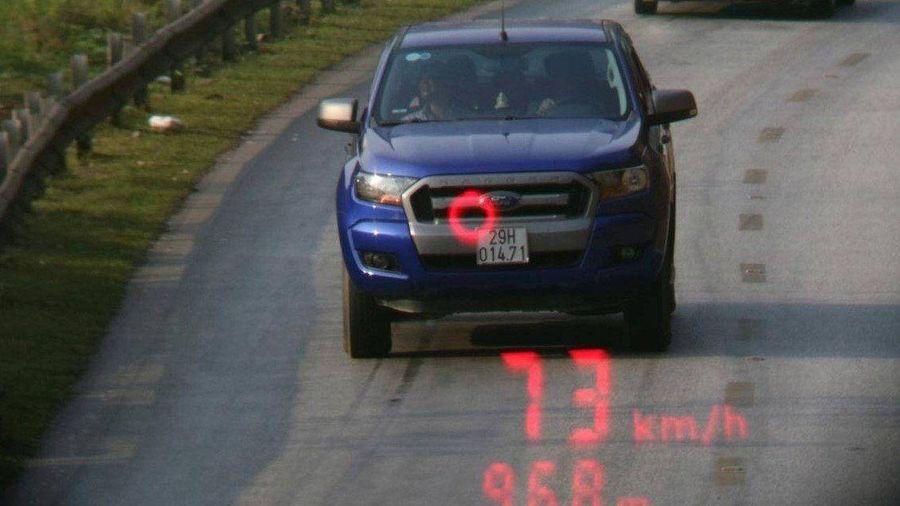 Xử phạt 42 triệu tài xế chạy quá tốc độ, sử dụng rượu, bia tham gia giao thông