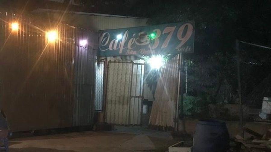 Người đàn ông chết bất thường trong quán cà phê chòi ở Bình Dương